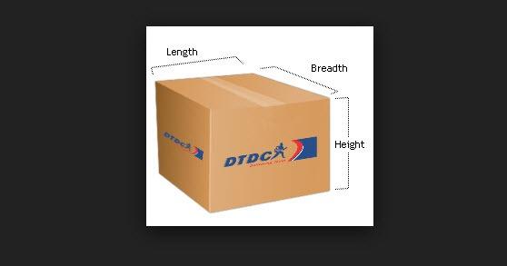 DTDC Volumetric Weight Calculator